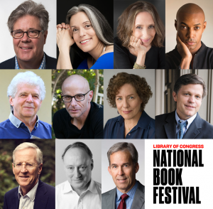Authors appearing in the History & Biography Stage at the 2019 Library of Congress National Book Festival