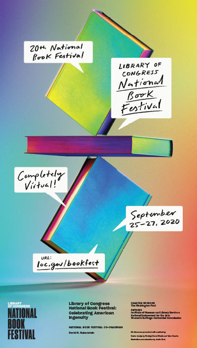 2020 Library of Congress National Book Festival Poster
