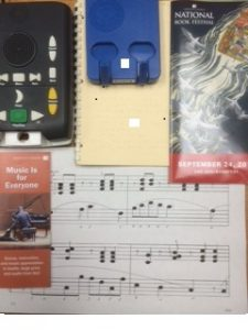 Music Materials on Display