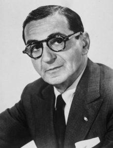 A Photograph of Irving Berlin from 1941. Public Domain.