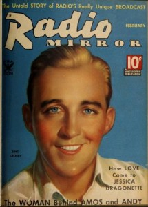 Cover from Radio Mirror, February, 1932.