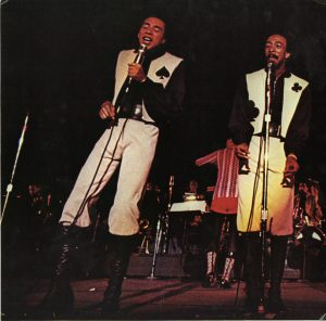 Photo from record jacket, Smokey Robinson & the Miracles' anthology. Recorded Sound Section, MBRS.