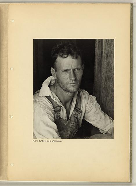 Floyd Burroughs, Sharecropper