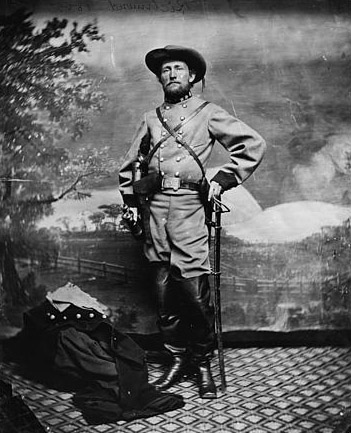 Col. John S. Mosby, C.S.A. Photo, between 1861 and 1865.
