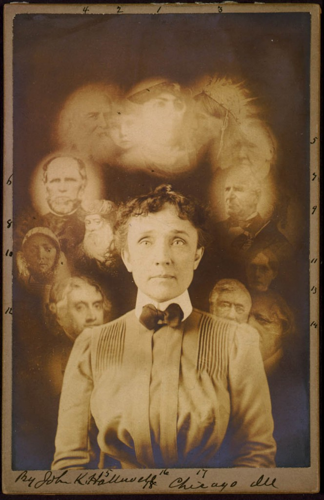 A Ghostly Image: Spirit Photographs | Picture This ...