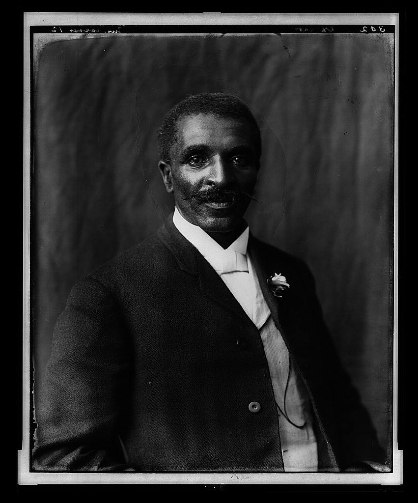 George Washington Carver. Photo by Frances B. Johnston, 1906. //hdl.loc.gov/loc.pnp/ppmsc.03252