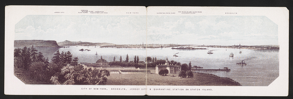 City of New-York, Brooklyn, Jersey City & Quarantine Station on Staten Island