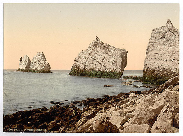 The Needles, Isle of Wight, England