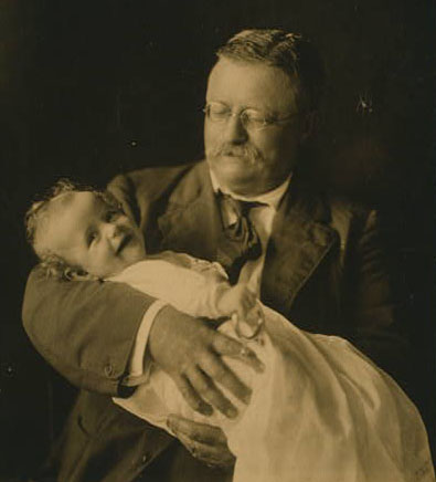 Theodore Roosevelt and Kermit Roosevelt, Jr. Photograph copyrighted 1916 September 26.