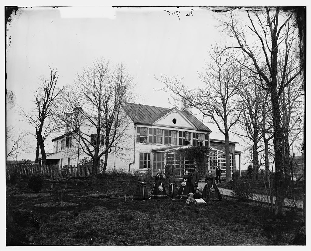 Patellus house. Photo, between 1862 and 1865. hdl.loc.gov/loc.pnp/cwpb.04190