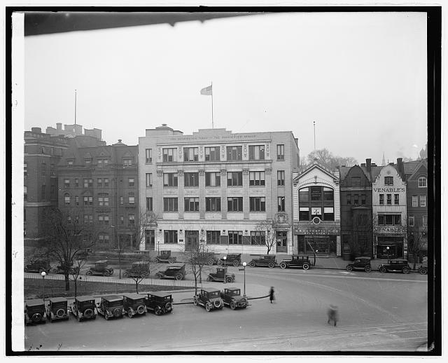 Times Herald Bldg., [Washington, D.C.] Photo by National Photo Company, between 1910 and 1926. //hdl.loc.gov/loc.pnp/npcc.32270