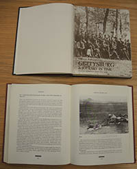 P&P's well-used copies of William Frassanito's books Gettysburg: a Journey in Time and Antietam : the Photographic Legacy of America's Bloodiest Day