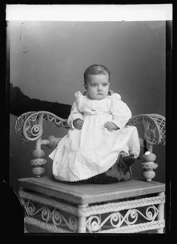 Callow, baby. Photo by C.M. Bell, [between February 1894 and February 1901] //hdl.loc.gov/loc.pnp/bellcm.05898