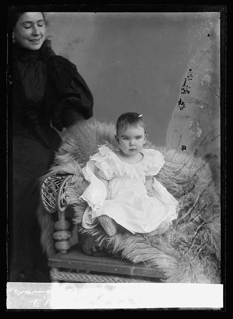 Taylor baby. Photo by C.M. Bell, [between February 1894 and February 1901] //hdl.loc.gov/loc.pnp/bellcm.07177