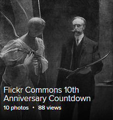 Flickr Commons 10th Anniversary Countdown album, featuring Day One image: The tenth muse by John White Alexander. Photograph, copyrighted between 1900 and 1912. //hdl.loc.gov/loc.pnp/det.4a26049