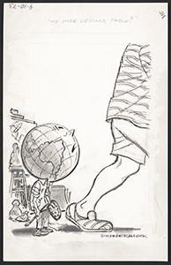 Herb Block. <em>No more lessons, Pablo?</em>, 4-10-1973. Drawing published in The Washington Post, April 10, 1973. © Herb Block Foundation. //hdl.loc.gov/loc.pnp/hlb.08198