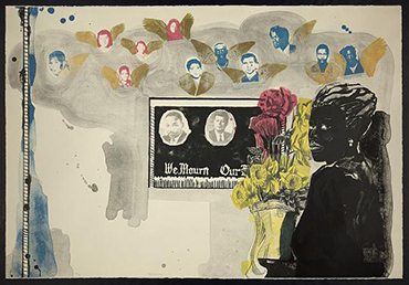 Kerry James Marshall. <em>Memento</em>, 1997 print. © Kerry James Marshall. Courtesy of the artist and Jack Shainman Gallery, New York. http://hdl.loc.gov/loc.pnp/ppmsca.15970