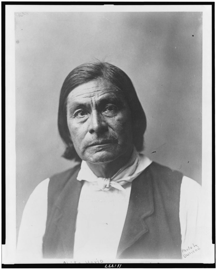 Chitto Harjo or Crazy Snake, head-and-shoulders portrait, facing front. Photo by Duncan, 1903. //hdl.loc.gov/loc.pnp/cph.3c11977