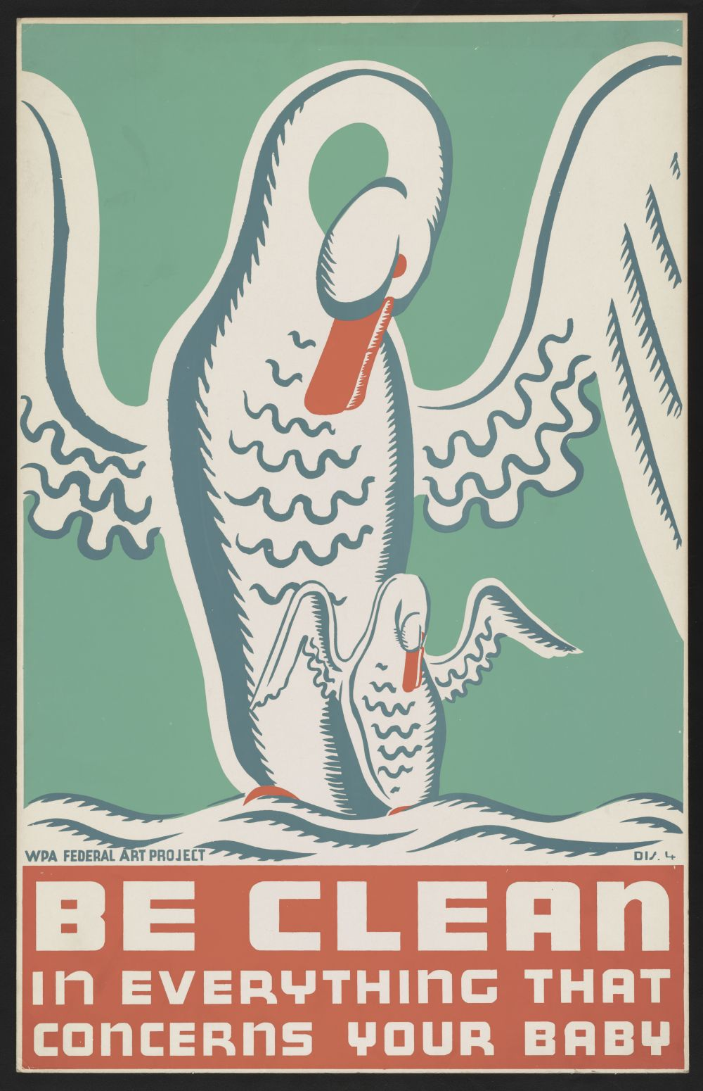 Be clean in everything that concerns your baby. Poster by Erik Hans Kraus, between 1936 and 1939. //hdl.loc.gov/loc.pnp/ppmsca.38335