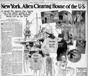 Image from New York evening world, May 20, 1922
