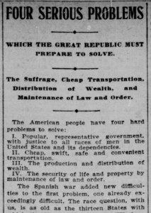 Article from The Indianapolis journal., August 25, 1901