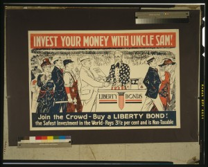 Invest your Money with Uncle Sam, 1917