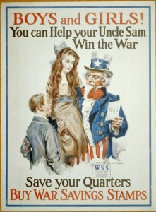 Boys and Girls: You can help Uncle Sam Win the War, 1917