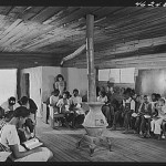 Veazy, Greene County, Georgia. The one-teacher Negro school in Veazy, south of Greensboro