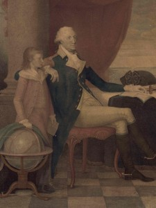 The Washington family [Detail], 1798