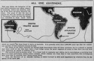 """All One Continent.""Lincoln County Leader, December 21, 1900."