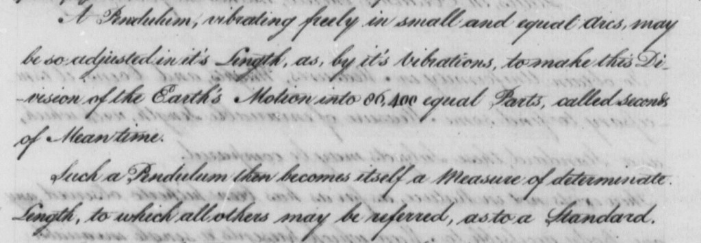 Detail of Page 2 of Thomas Jefferson to House of Representatives, July 4, 1790, Report on Plan for Establishing a Uniform Currency, with Draft Copy