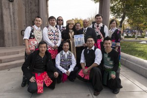 Some of the hundreds of participants at the 10th-annual Hmong New Year Celebration in downtown Chico, California. Carol Highsmith, 2012