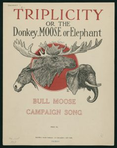 Triplicity, or Donkey, Moose or the Elephant by L. Mae Felker and H.S. Gillett, 1912