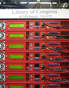 Library of Congress 80 TB