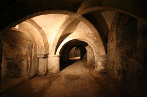 crypt ambulatory, by Art History Images (Holly Hughes), on Flickr