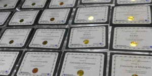 Certificates of Achievement given to NDSA Members, by Trevor Owens, Public Domain