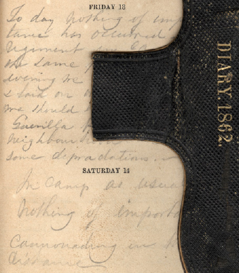 Philip C. Shaffner and Robert H. Ward 1862 Civil War Diaries Near Washington D.C., and in Virginia, 1862, by pennstatelive, on Flickr