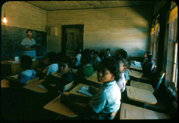 Holmes County - Tchula School - 5th Grade Classroom - 1955; U. of Mississippi Visual Collections John Elon Phay Collection