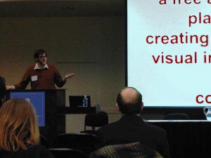 Trevor Owens from the Library of Congress Presenting ViewShare at CurateGear