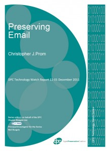 Preserving Email: Technology Watch Report