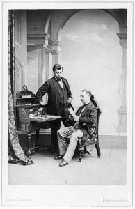 Two lawyers. Library of Congress Prints and Photographs Division, LC-USZ61-1806.