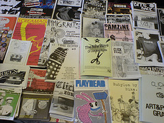 Zine Symposium - Russell Square London 2006, by szczel, on Flickr
