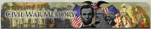 Screenshot of the Civil War Memory Website.