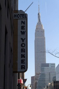 New Yorker Hotel by user zackojones on Flickr