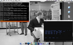 IBM OS360 running on Hercules under OS X from user mrbill on Flickr