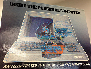 """Inside the PC"" display at UMD MITH"