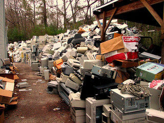 e-Waste, by curtis palmer, on Flickr