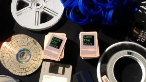 Personal Digital Archiving display
