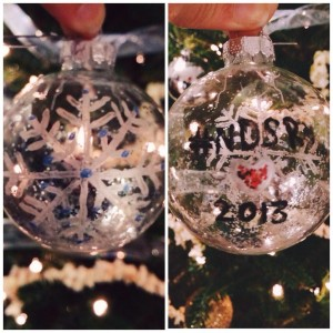 NDSR Christmas tree ornament.  Photo: Jaime McCurry,