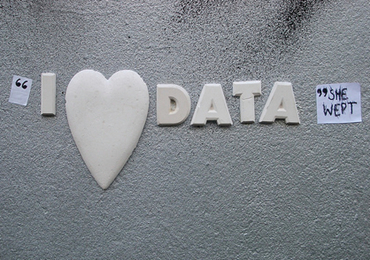 """I Love Data"" She Wept, by bixentro, on Flickr"